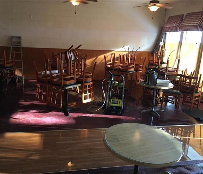 Flooded East Sacramento Restaurant Before