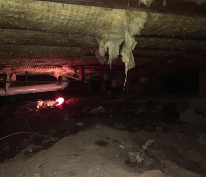Flooded Crawl Space